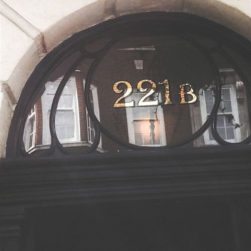 221b Bakerstreet Sherlock London First Eyeem Photo