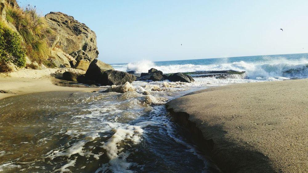 Creek Mouth Big Swell )