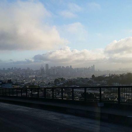 Good Morning Sanfrancisco ! Nofilter ILOVESF Citylife Nannylife MorningClouds FogCity Citybythebay