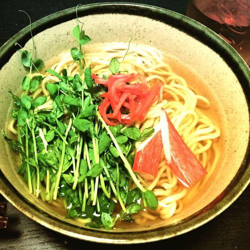 Japanese Noodles Japanese Food Okinawasoba Dinner