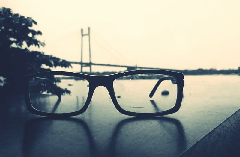 """""""Life is only a refection of what we allow ourselves to see."""" - City of joy (Kolkata) Eyesight Reflection"""