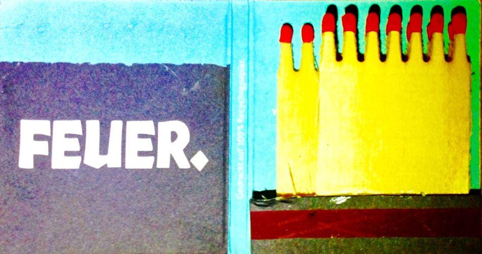 ‼️ Feuer . ‼️| Streichholzbriefchen / Streichhölzer / Matches