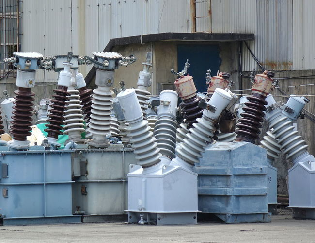 Large ceramic insulators for high voltage power lines High Voltage Porcelain  Ceramic Glaze Ceramic Insulator Electricity  Equipment Fragile Industry Insulators Machine Part Power Industry Power Supply Technology