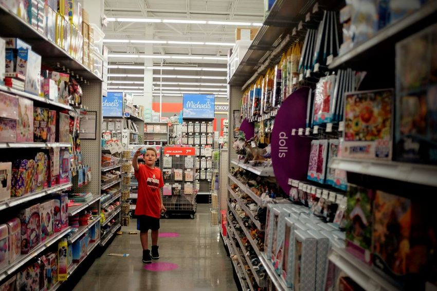Visual Journal June 2018 Lincoln, Nebraska 35mm Camera A Day In The Life Always Making Photographs Art Store Camera Work Everyday Life EyeEm Best Shots FUJIFILM X100S Getty Images Kids Being Kids Photo Essay Shopping Toys Visual Journal Abundance Adult Aisle Ball Casual Clothing Choice Consumerism Eye For Photography Full Length Indoors  Large Group Of Objects Long Form Storytelling One Person Order Photo Diary Practicing Photography Real People Rear View Retail  S.ramos June 2018 Shelf Shopping Standing Store Supermarket Variation Women