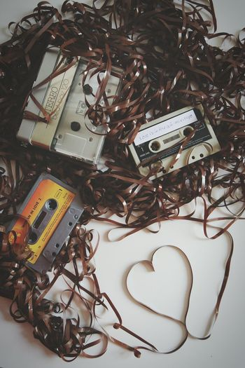 Retro series :no.3...do you remember creating your own tapes?? Taking Photos Check This Out Love Is In The Air Tape Is King  Casette Tapes Casette Is Not Dead Getting Inspired EyeEm 5.0 Throw A Curve For The Love Of Music