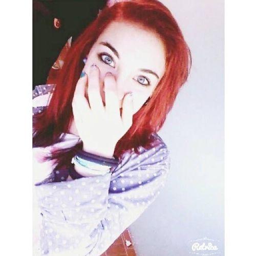 Me Redhair OldPhoto ' Lightblueeyes Happy School Photo Italiangirl