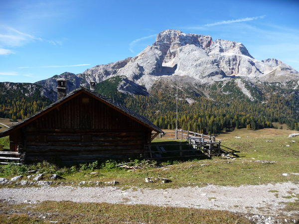 Dolomites, Italy Hiking Südtirol Architecture Beauty In Nature Day Grass Hiking Path Landscape Mountain Mountain Range Mountain Shelter Nature No People Outdoors Scenics Sky Tranquil Scene Tranquility Tree