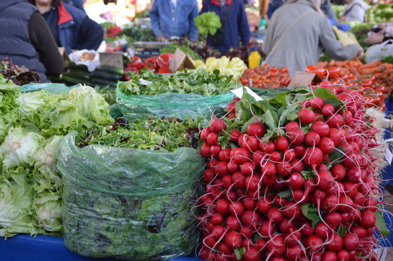 Choice Day Food Food And Drink For Sale Freshness Healthy Eating Market Market Stall Outdoors Real People Red Variation Vegetable