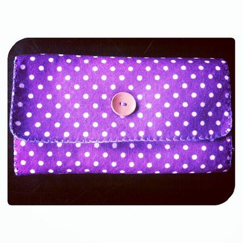 Polka dot dot Feltproject Feltdesign FeltCraft Feltfabric madetoorder diy handmade hobby malaysiancrafter igmalaysia