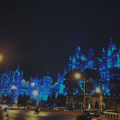 Night At CST Statation.. Awesome place for Photography Mumbai meri Jaan Mumbai Stree .mumbai Mumbaiexplorer Mumbaiexplore Mumbaiphotography Mumbai_meri Indianphotographers Indianphotographersclub India CST Victoriyaterminus Mobilephotography Nightphotography
