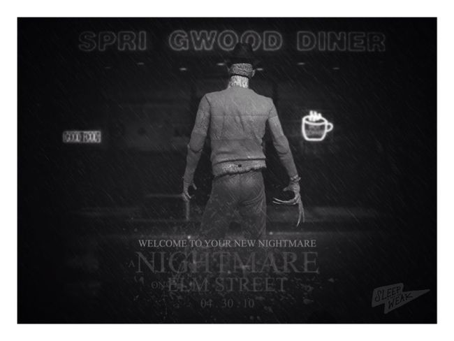 In cinemas Freddykrueger Nightmareonelmstreet Poster Cinema Horror Movies Horror Horror Photography Toyphotography Monochrome Blackandwhite Blackandwhite Photography Photography ATA_Horror_Click