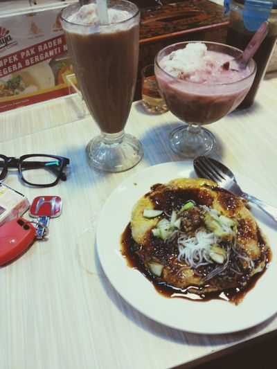 Eating Spicy Food Indonesian Food