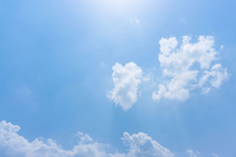 Bright day Cloud - Sky Sky Blue Beauty In Nature Tranquility Nature Day Scenics - Nature No People White Color Sunlight Cloudscape Outdoors Heaven Sunny Meteorology