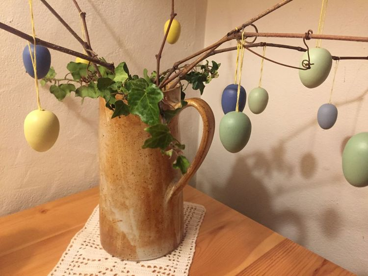 Easter Happy Plant Hanging No People Nature
