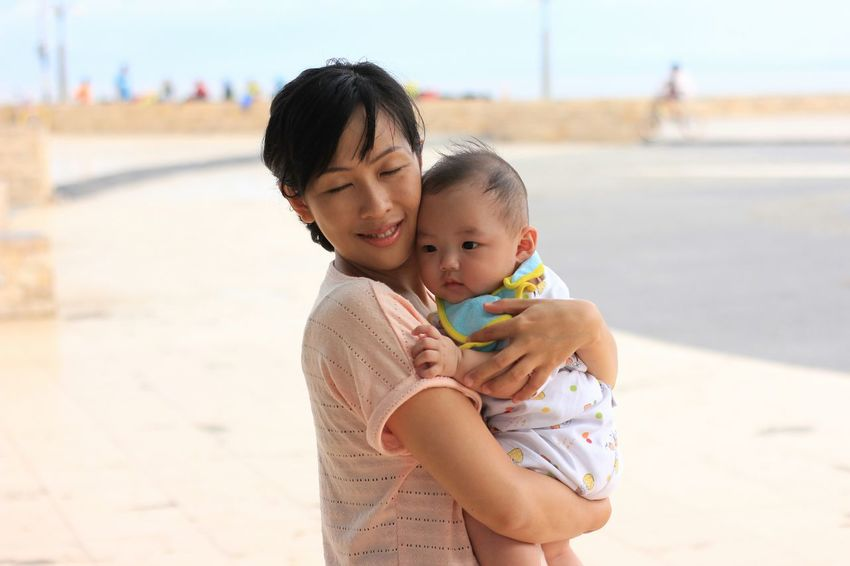 Depth Of Field Portrait People Eyem Best Shots Mother&son Mother And Son Babyboy RePicture Motherhood