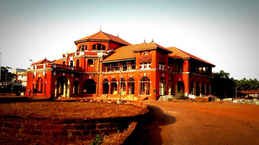 haveli @ native place... Building Exterior City Outdoors Architecture No People Sky Nature Day Freshness Scenics Calm Relaxing Emperor Palace Thibaw Palace