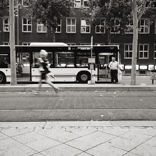 Blackandwhite Photography Thuringen Blackandwhite Jena City Streetphotography Black And White Light And Shadow Bus Stop