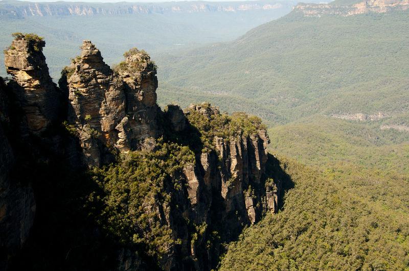 Three Sisters - Blue Mountains - Australia Australia Blue Mountains Katoomba Mountain Three Sisters