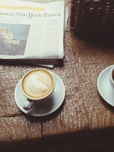 Coffee Flat White Kaffee Coffee Time