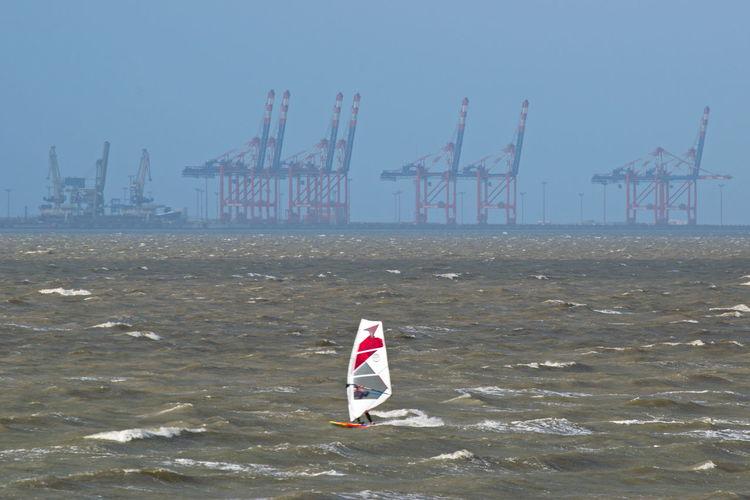 Lesphotographes Ostfriesland Fotografia Northsea Weather Fotoart_alfpo Surfing Surfer Windsurfing Eckwarderhörne Jadebusen Nautical Nordsee Northsee Surfing Wellen Wetter Wilhelmshaven Surf Parachute Wave Windsurfing