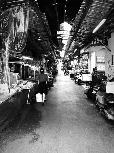 Grocery Purchase Capture The MomentB&w Street Photography Monochrome Daily Life Snapshots Of Life Taipei Dadaocheng Walking Around Getting Inspired