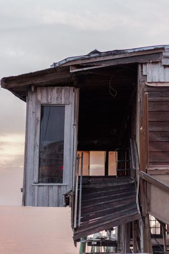 Architecture Beach Broken Building Exterior Built Structure Day House Hurricane Landandsea Landscape Long Exposure No People Outdoors Reflection Resturant Roof Sky Sunset Urban