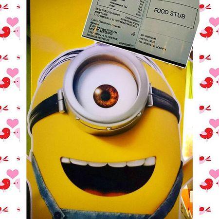07/18/2015 Finally.... Saturdate Minions Movies Cinema