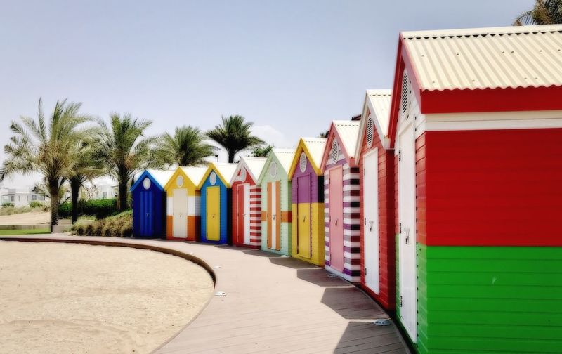 Beach Photography IPhone 7 Photography Beach Huts Colourful Beach Life Colour Of Life Fun In The Sun Visit Oman