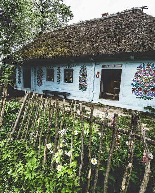 Zalipie Painted Houses Architecture