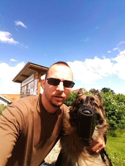 Hanging Out Check This Out That's Me Hello World Hi! Enjoying Life Free From Work Summertime German Shepherd My Lovely Dog Guard Dog Security Dog