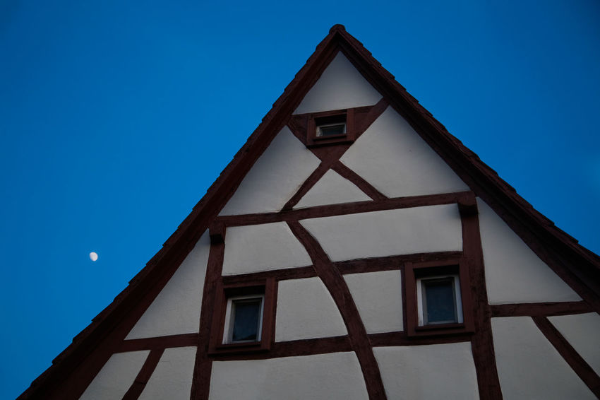German House Medieval Typical German House Fachwerkhaus