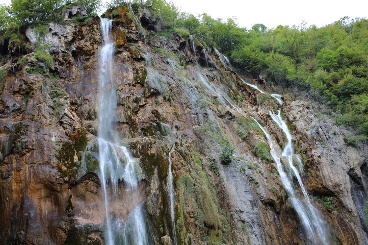 Croatia Djmarcop Trip Nature Scenics Motion Beauty In Nature Tranquility No People Day Outdoors Forest Waterfall Rock - Object Water Tree