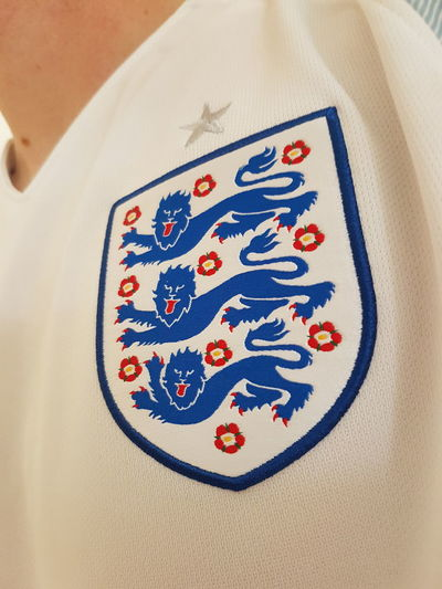 Time for the football. England vs France. C'mon boys. Indoors  Textile High Angle View No People Close-up Embroidery Multi Colored Day England🇬🇧 Threelions 3lions Three Lions Football Football Fever Footballislife