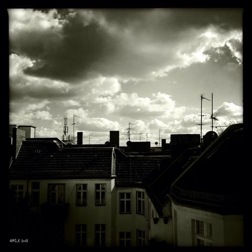 After rain comes shine Blackandwhite In Love With Berlin