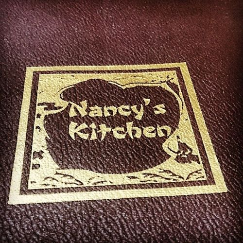 At the famous Nancy's Kitchen