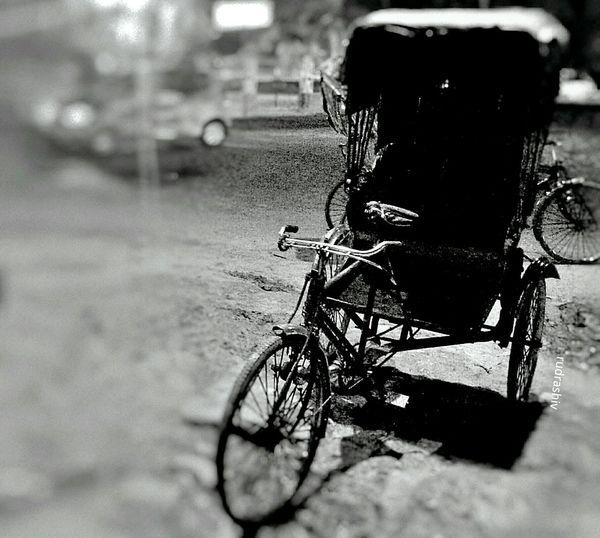 Rikshaw Patna Traval With Friends Sobberart