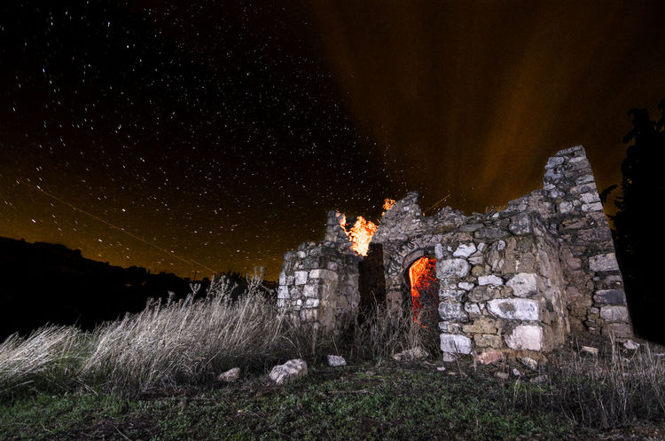 Ruins Ruins HUAWEI Photo Award: After Dark Astronomy Galaxy Sky