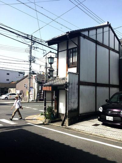 narrow building,Kyoto