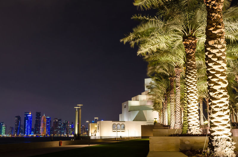 Museum Of Islamic Art Doha Architecture Art Building Building Exterior Buildings City Doha Illimunated Islamic Museum Night No People Outdoors Qatar Tour Tourism Travel Travel Destinations