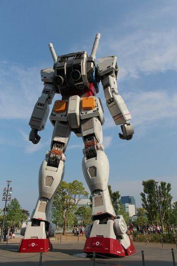 The Architect - 2015 EyeEm Awards Gundam Gundamcollection Gundam Model Backview Back Of Gundam EyeEm Japan Transformers Robots Robocop