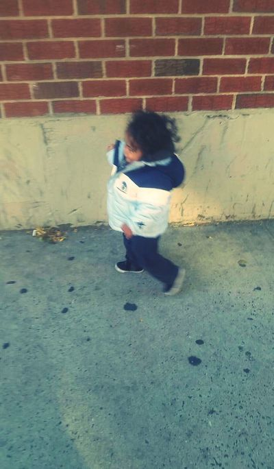 My Mini Me <3 Walking Around The City  Big Guy Handsome Boy Mommasboy My Heart <3 My Peace Of Heaven Proud Mommy