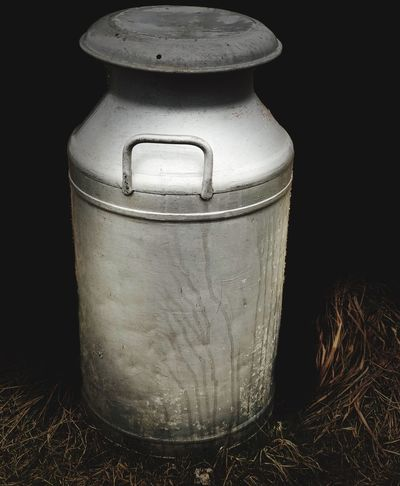 Milk churn Milk Churn Container Still Life Studio Shot Indoors  No People Close-up Metal Single Object Food And Drink
