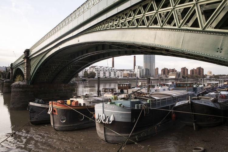 Houseboats on