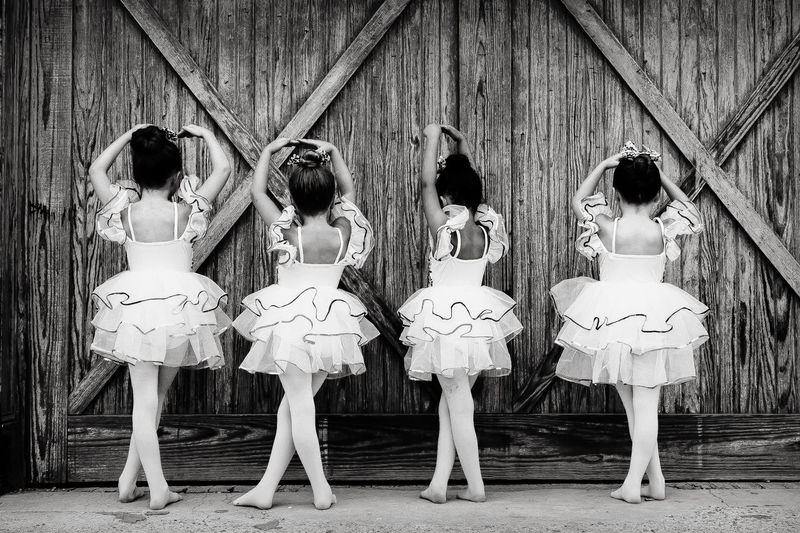Ballet Blackandwhite Childhood Memories Children Conformity Dance In A Row Music Princesses Tiny Dancer First Eyeem Photo Market Reviewers' Top Picks