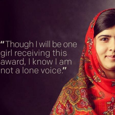 Many congrats to Malala , who today became the youngest person ever to collect da Nobel Peace Prize for peace!! NoblePrize Oslo Peace Love Quote Quotes InstaQuotes Picoftheday Instapic Instalikes Bestoftheday Bestquote Life Inspiration