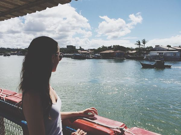 Ferry boat ride ⛵️ Bahia Brasil