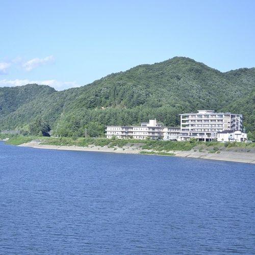 盛岡御所湖 風景 湖