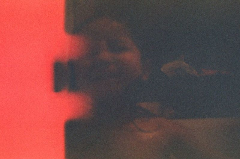 19-year-old film, developed in 2019 Expired Film Analogue Photography 35mm Close-up Indoors  One Person Real People Lifestyles Textured  Human Body Part Abstract