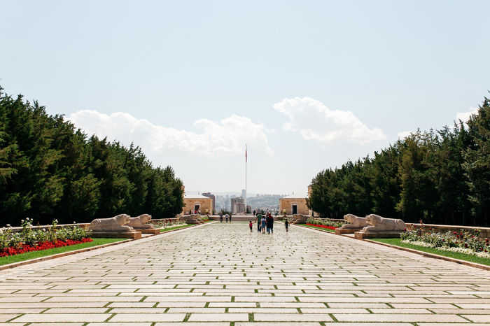 Adult Adults Only Anıtkabir Day Large Group Of People Men Nature Outdoors People Promenade Sky The Way Forward Travel Destinations Tree Walking Women Young Adult