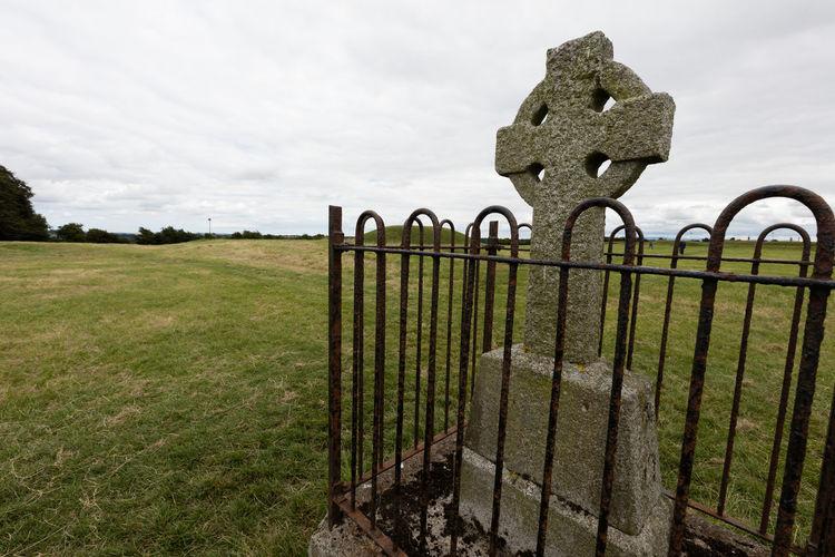 Celtic Tomb And Hostages Mound On Mystical Tara Hills